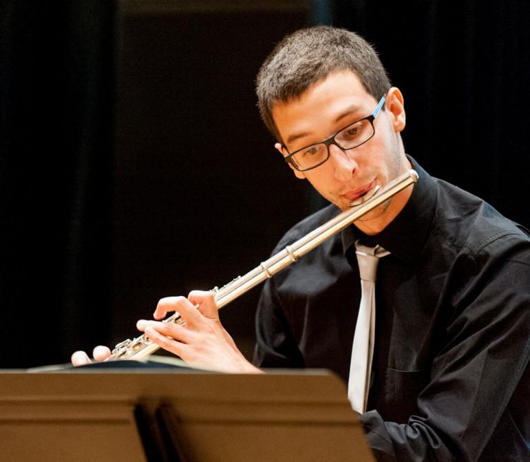 Premier mouvement (Allemande) de la Partita en La mineur pour flûte seule, de JSBach, interprété parJean-Philippe Bilodeau.