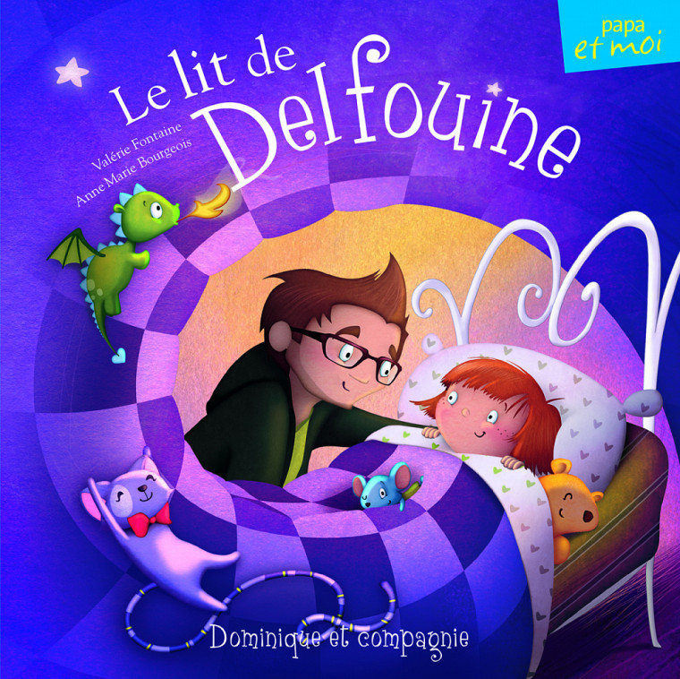 Le lit de Delfouine par Valérie Fontaine.