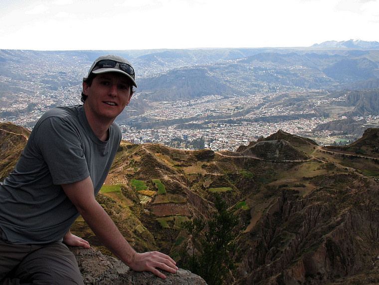 Alexandre Cerruti présentant La Paz