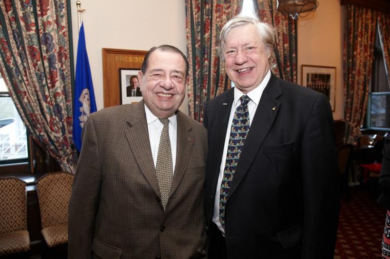 Robert Normand et Louis-Paul Allard, ambassadeurs de la Faculté de droit