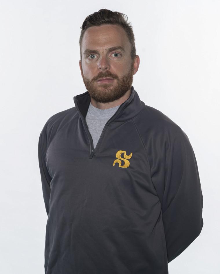 Anthony Bouthiller-Hénault, entraîneur-chef de l'équipe de badminton du Vert & Or