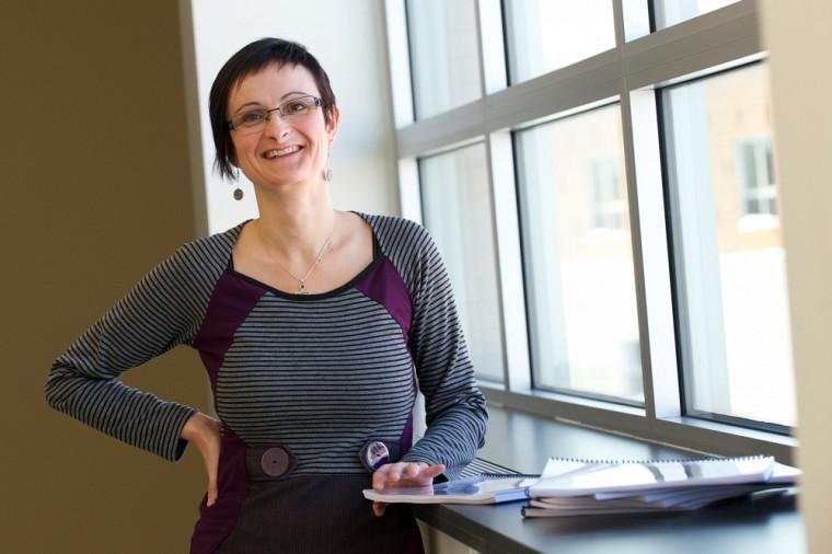 La professeure Carine Villemagne