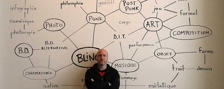 Sébastien Pesot, artiste et chargé de cours à l'Université de Sherbrooke