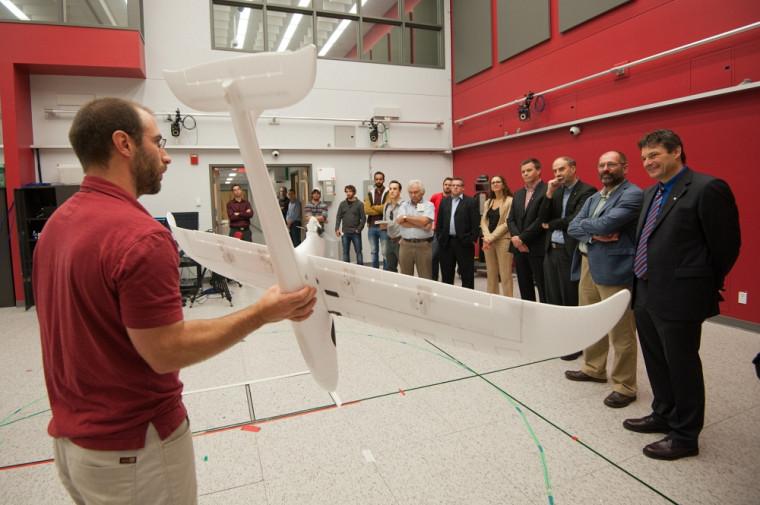 L'énergie solaire au service des drones.