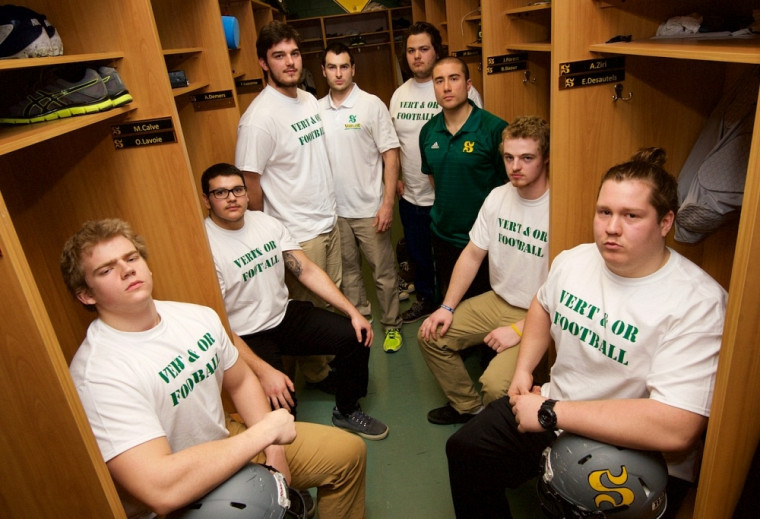 Le Vert & Or a présenté récemment plusieurs joueurs de lignes recrues, en prévision de sa saison de football 2015.