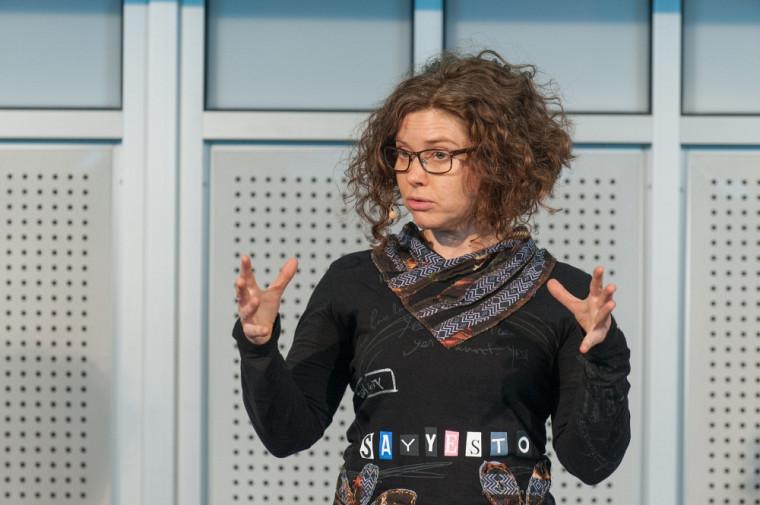 Emmanuelle Wilhelm, doctorante à la Faculté de médecine et des sciences de la santé