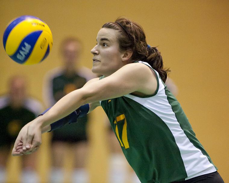 Andréanne Lebrun a été choisie dans l'équipe d'étoiles de l'Invitation nationale de l'Université de Toronto.