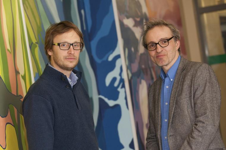 David Morin et Emmanuel Choquette, enseignants à l'École de politique appliquée