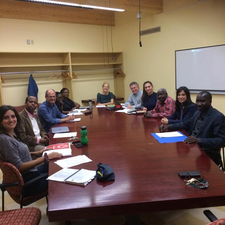 Les membres du comité EUMC - UdeS