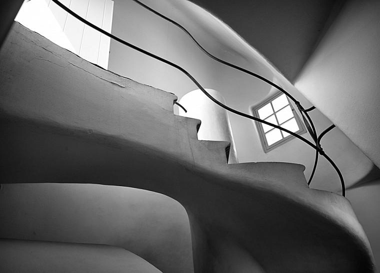 René Houle,Courbes à la Gaudi, 2012. Photographie numérique, 16 x 20 pouces.