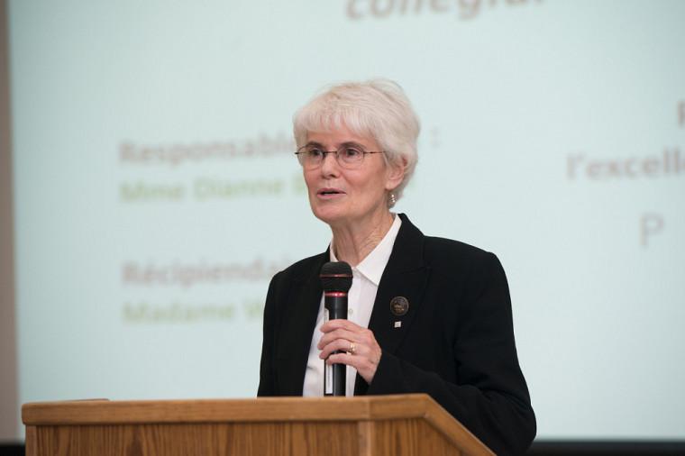 Wilma Brown, Assistant Dean au Collège Vanier et récipiendaire du prix Performa volet anglophone