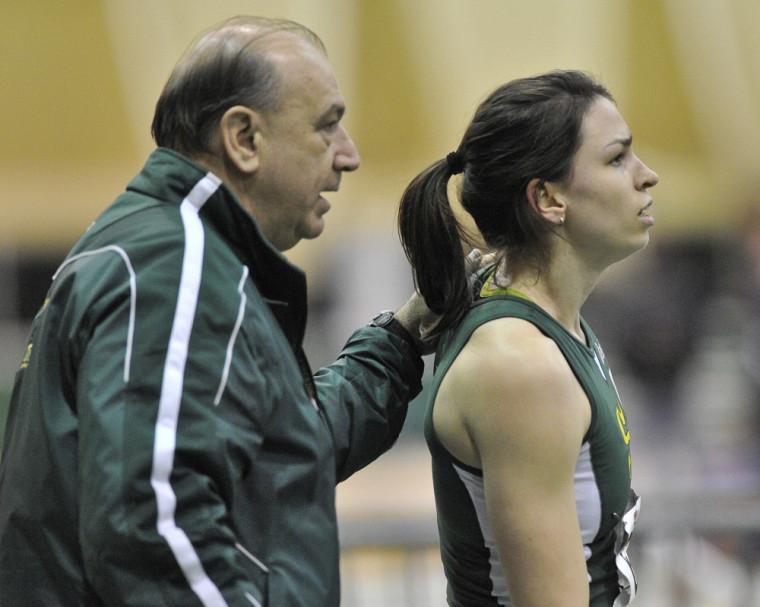 L'entraîneur Richard Crevier a marqué de nombreux athlètes en 30 ans de carrière à la tête de l'équipe d'athlétisme Vert & Or, dont Pascale Delisle.
