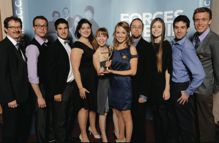 La troupe Broadway FMSS a reçu le titre dans la catégorie Arts, lettres et culture.