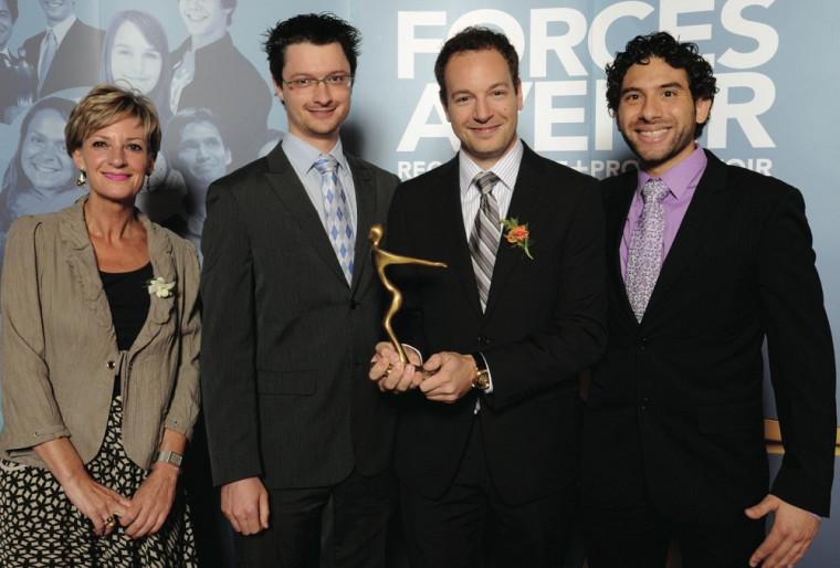 L'entreprise IngeniArts a été récompensée dans la catégorie Entrepreneuriat, affaires et vie économique.