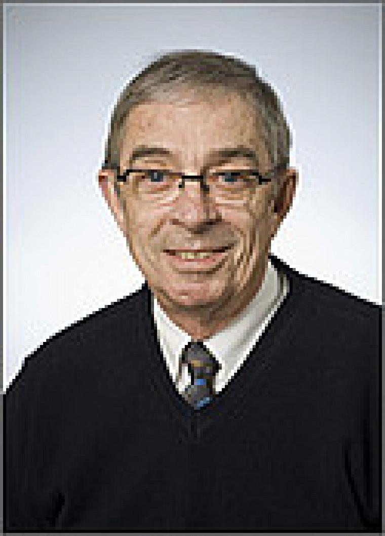Pierre Deslongchamps, professeur émérite de la Faculté des sciences