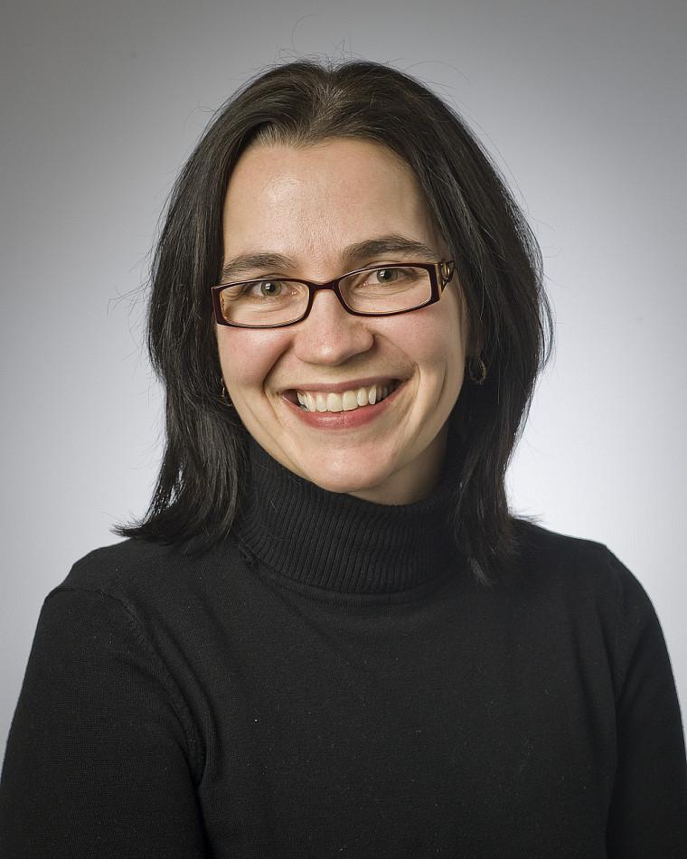 Marie-Pier Luneau, codirigeante du Groupe de recherches et d'études sur le livre au Québec.