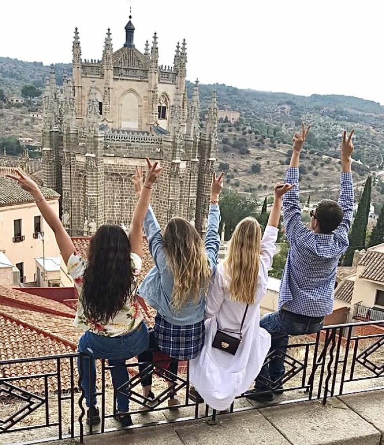 Camila Andrea Velasquez, étudiante en droit, a fait un échange à l'Universidad Alfonso X El Sabio en Espagne.